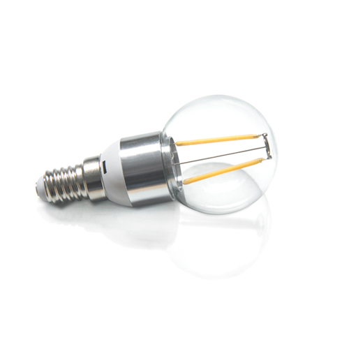 12V DC 2W 45mm bulb E14 base ( LED-F-4W-45)